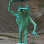 Top Hat frog October 2011 standing 1