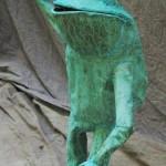 Top Hat frog October 2011 standing 2
