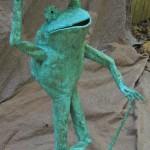 Top Hat frog October 2011 standing 3