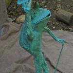 Top Hat frog October 2011 standing 4