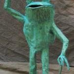 Top Hat frog October 2011 standing 7