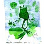frog watercolor017